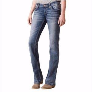BKE Denim Sabrina Boot Cut Stretch Denim Jeans 27